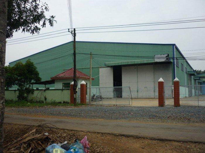 Nhà xưởng 1024m2 mặt tiền Nguyễn Văn Linh, ngang 26m