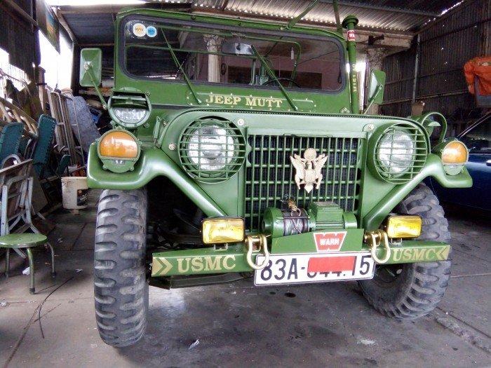 Jeep lùn A2 dang ky lan dau 2013 xe zin 98% 2 cầu diện 24v 7