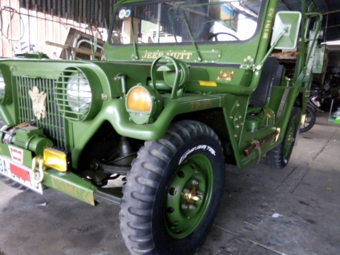 Jeep lùn A2 dang ky lan dau 2013 xe zin 98% 2 cầu diện 24v 6