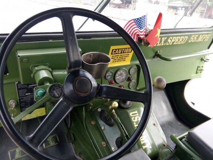 Jeep lùn A2 dang ky lan dau 2013 xe zin 98% 2 cầu diện 24v