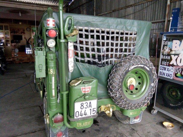 Jeep lùn A2 dang ky lan dau 2013 xe zin 98% 2 cầu diện 24v 4