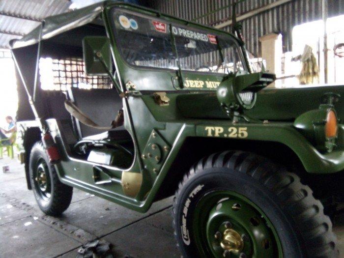 Jeep lùn A2 dang ky lan dau 2013 xe zin 98% 2 cầu diện 24v 1
