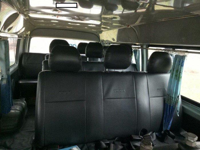 Bán Xe Toyota Hiace 16 Chỗ Đời 2011, Xe Cty Đưa Rước Nhân Viên