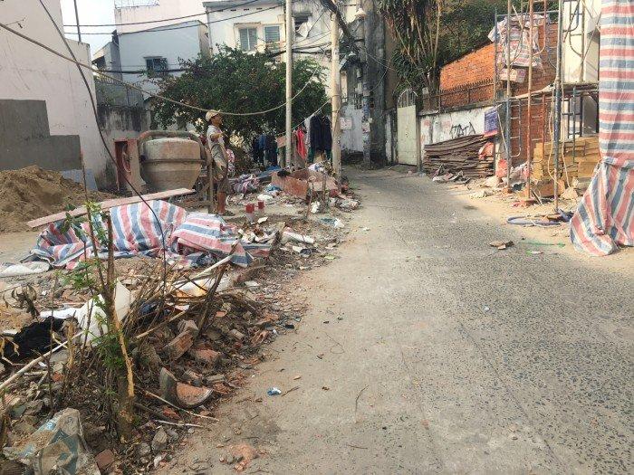 4 lô đất sổ đỏ nở hậu tại Phan Văn Trị, Bình Thạnh