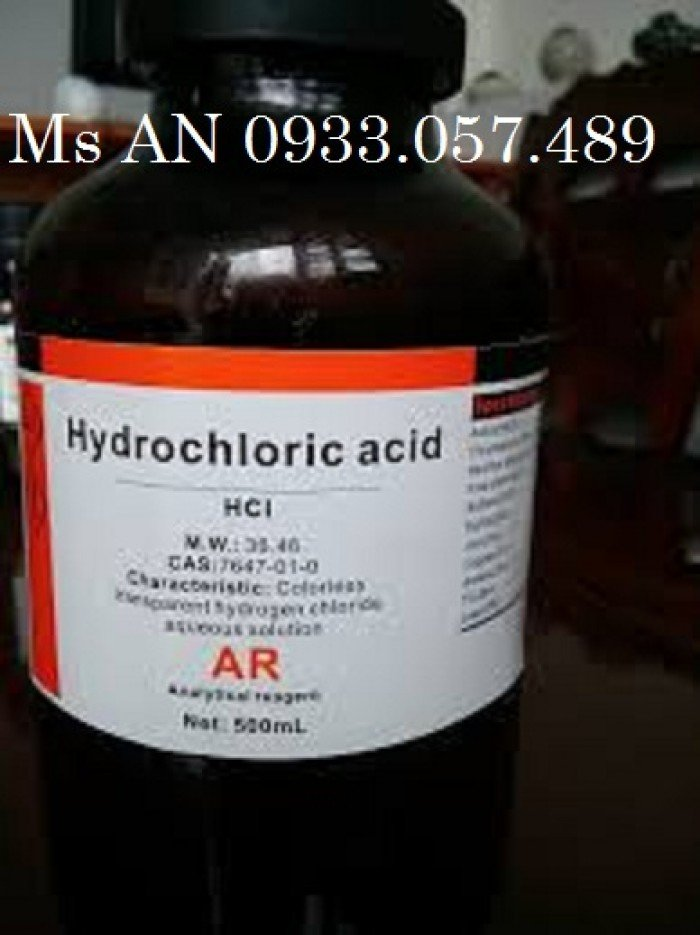 HCl thí nghiêm-Acid clohydric0