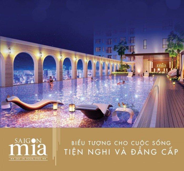 Căn hộ Sài Gòn Mia - hòn ngọc Khu Trung Sơn, 2,3 tỷ 2PN, 2WC