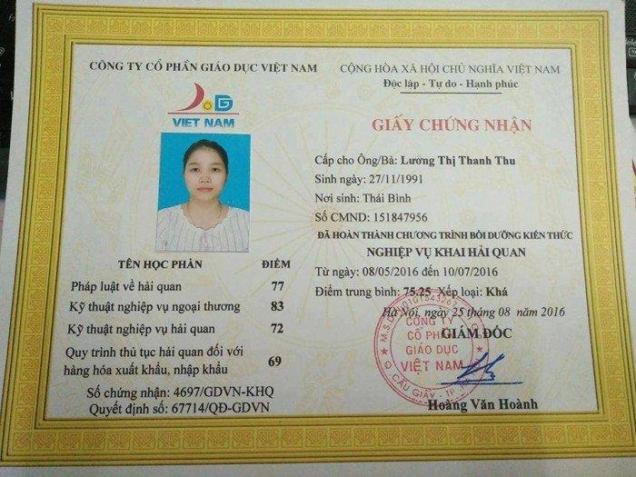 Địa chỉ học khai hải quan tại Bắc Ninh0