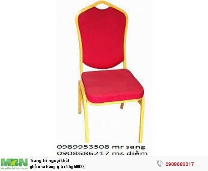 Ghế nhà hàng giá rẻ hgh00330