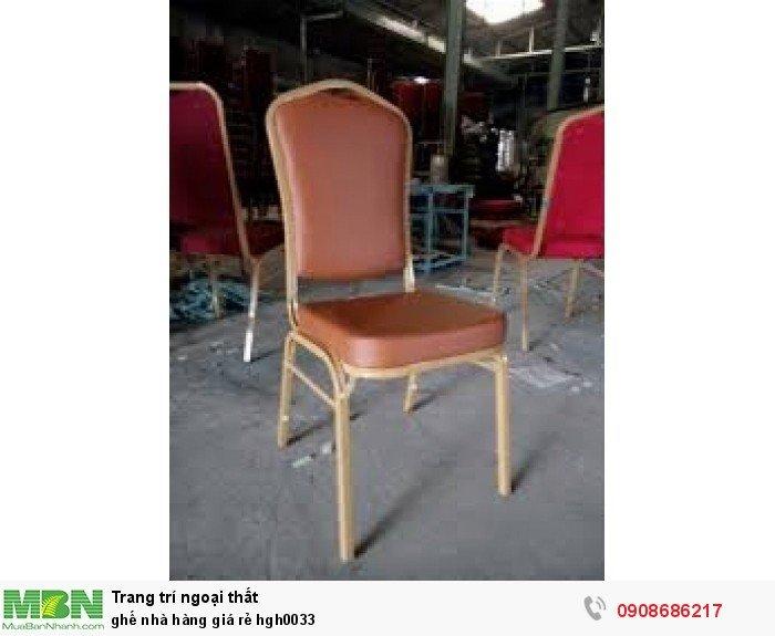Ghế nhà hàng giá rẻ hgh00331