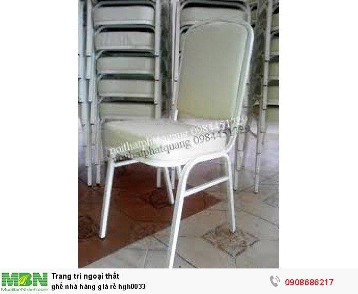 Ghế nhà hàng giá rẻ hgh00332