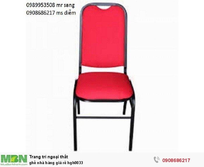 Ghế nhà hàng giá rẻ hgh00333