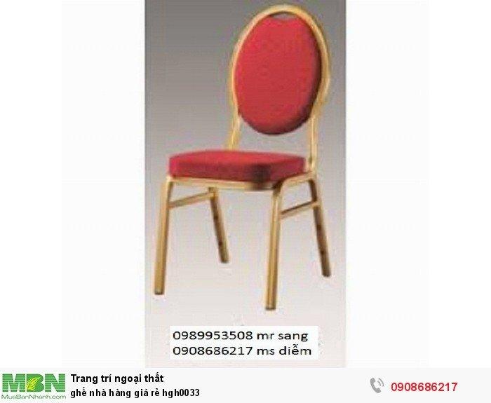 Ghế nhà hàng giá rẻ hgh00335