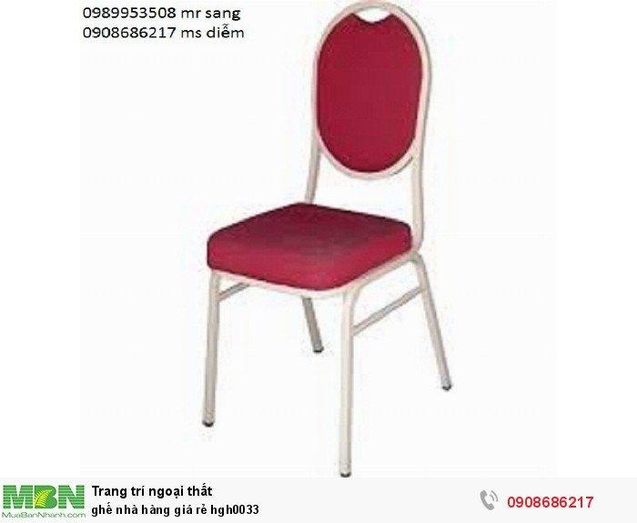 Ghế nhà hàng giá rẻ hgh00336
