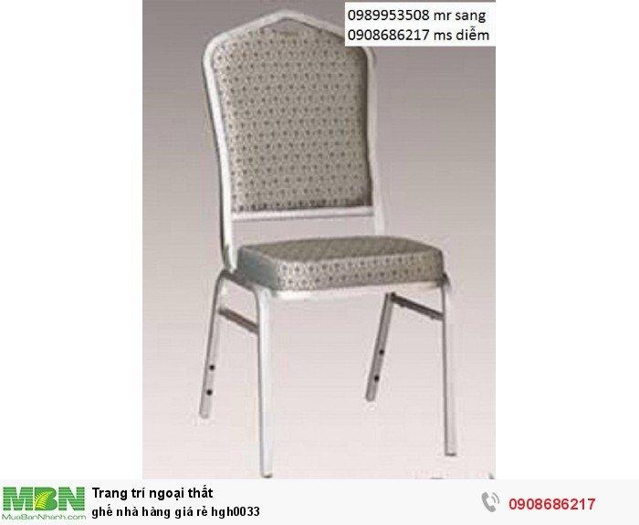 Ghế nhà hàng giá rẻ hgh00337