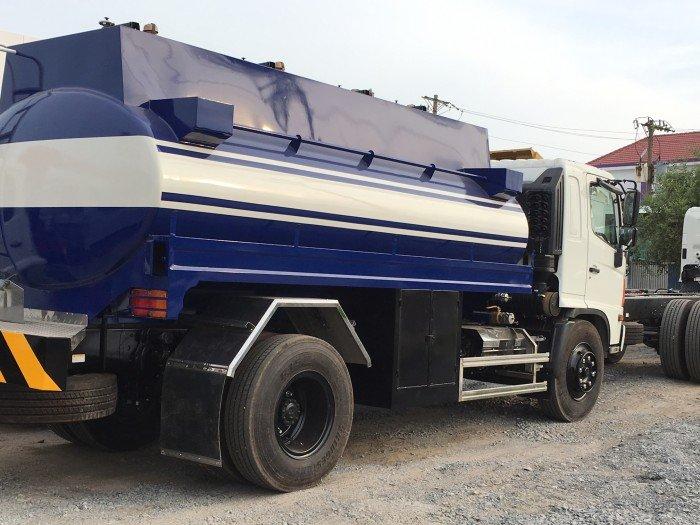 Xe bồn Xitec chở xăng Hino 8t 10m3, xe bồn chở xăng 10m3 Hino, xe bồn Hino 10m3