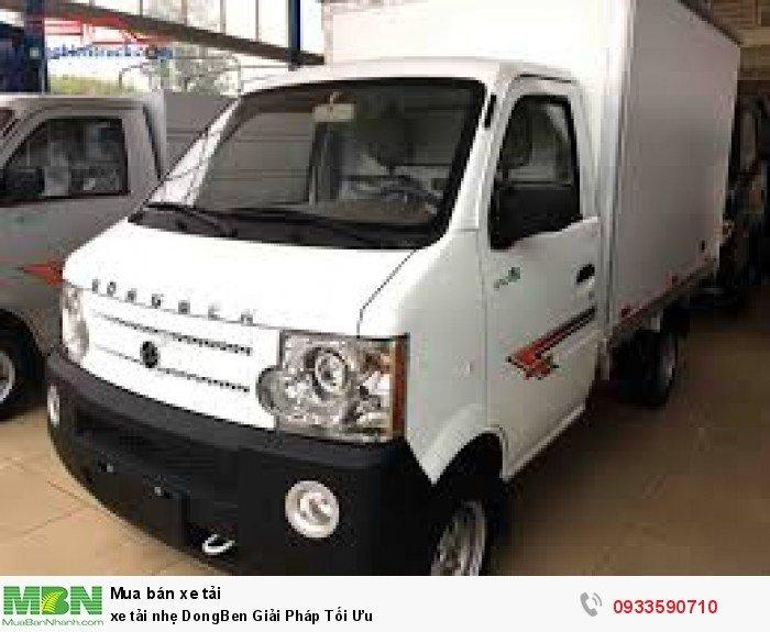 Xe tải nhẹ DongBen Giải Pháp Tối Ưu