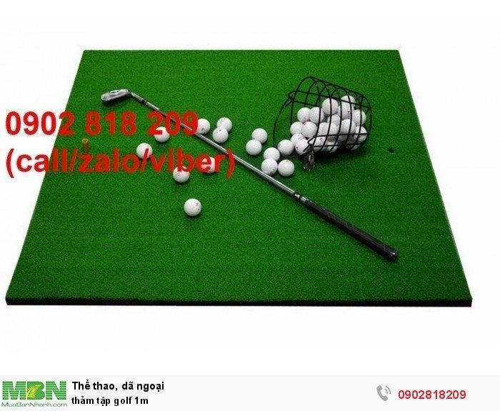Thảm tập golf 1m1