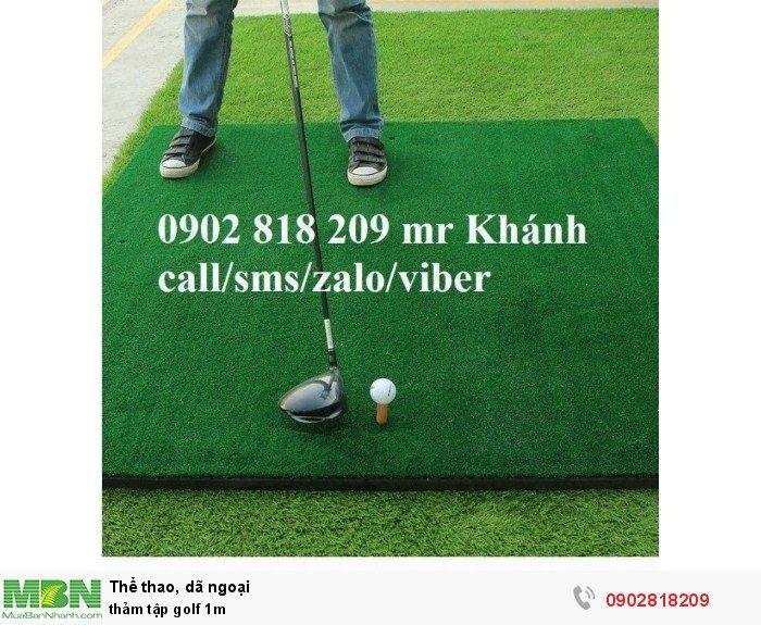 Thảm tập golf 1m3