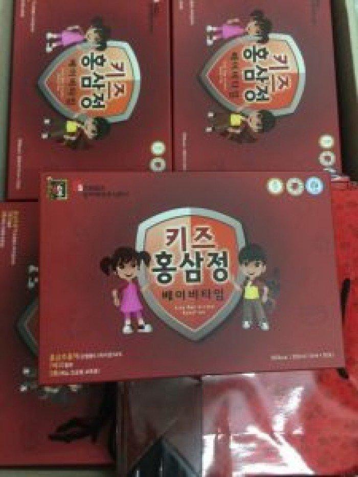 Chuyên cung cấp giá sỉ , lẻ NƯỚC HỒNG SÂM TRẺ EM SANGA HỘP 30 TÚI chính hãng Hàn Quốc