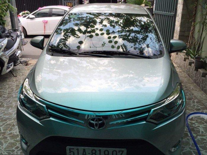 Cho thuê Toyota Vios đời 2016 chạy mát tay giá rẻ