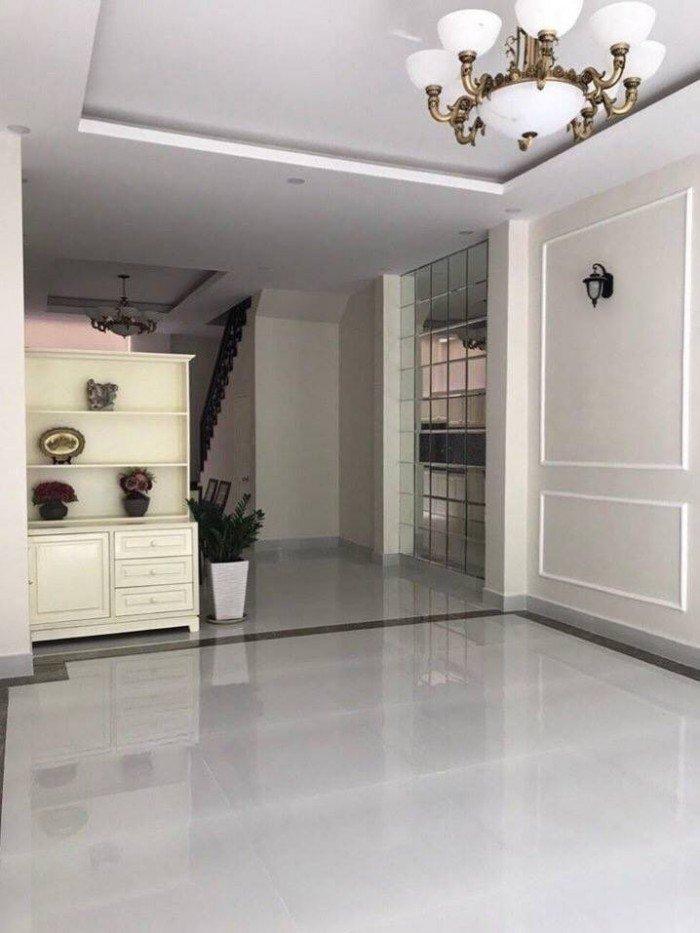 Bán nhà Nguyễn Văn Đậu, 62 m2 nở hậu, Ô tô, KD