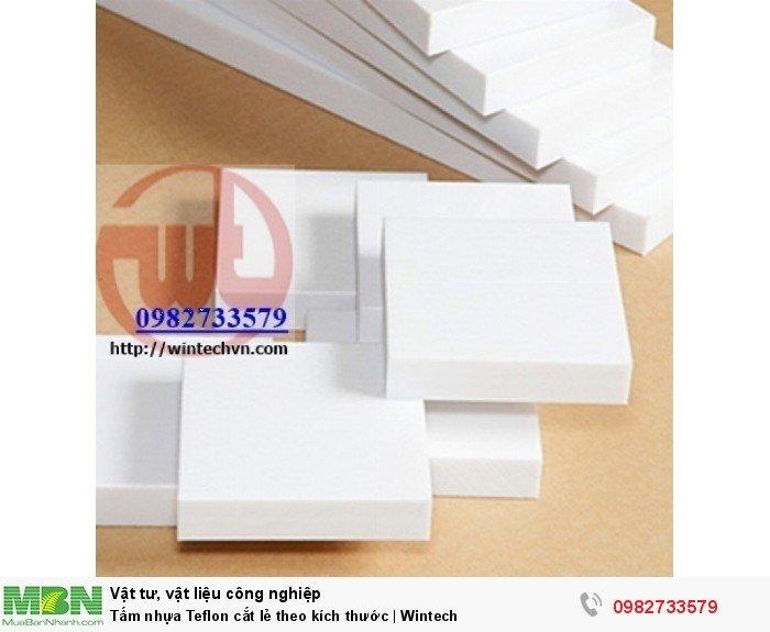 Tấm nhựa Teflon cắt lẻ theo kích thước | Wintech0