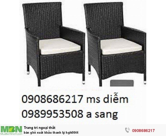Bàn ghế xuất khẩu thanh lý hgh0044