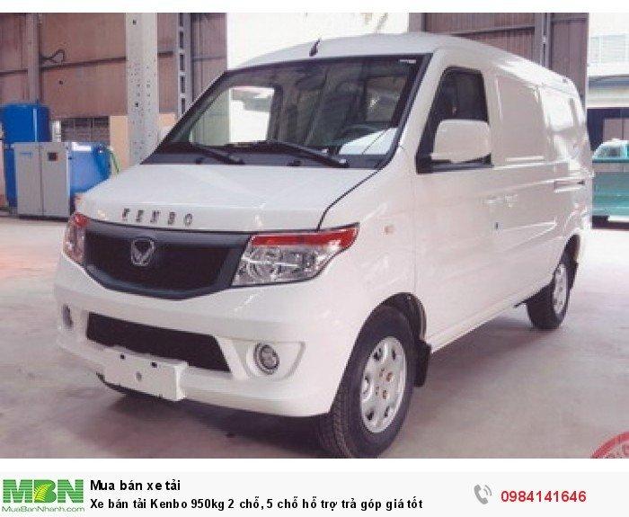 Xe bán tải Kenbo 950kg 2 chỗ, 5 chỗ hỗ trợ trả góp giá tốt 1