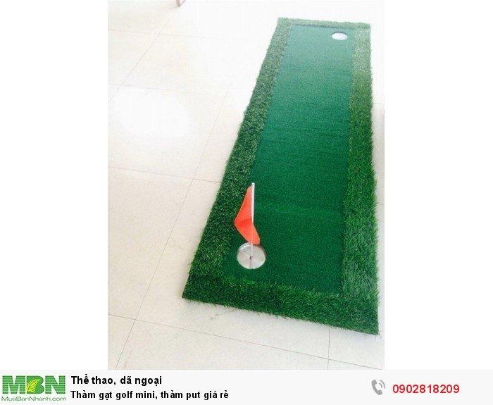 Thảm gạt golf mini, thảm put giá rẻ1