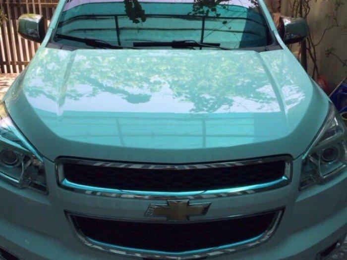 Cho thuê xe tự lái Chevrolet Corolado 2016 giá rẻ, thủ tục đơn giản tại TPHCM.