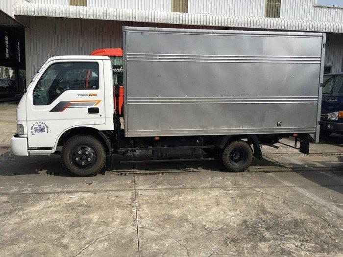 Giá xe tải Thaco K165 2.4 tấn và 2.3 tấn, Báo giá xe tải nhẹ