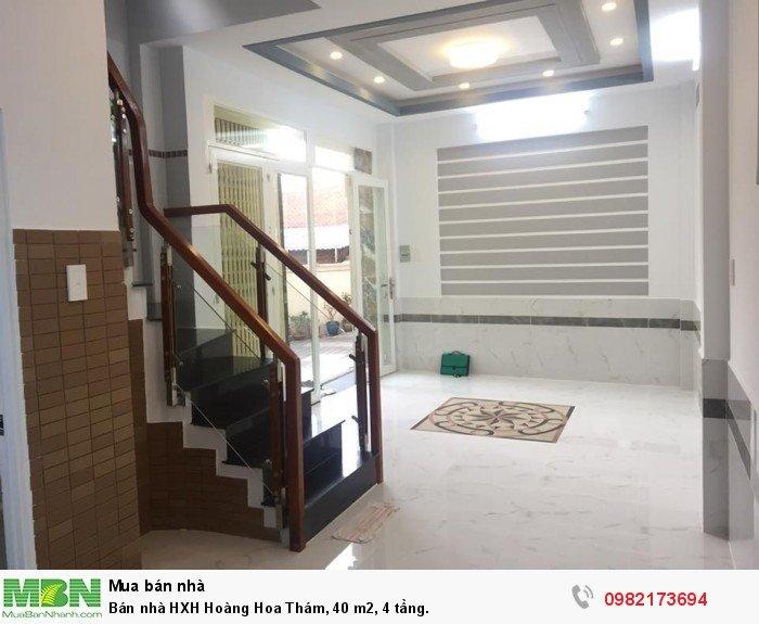 Bán nhà HXH Hoàng Hoa Thám, 40 m2, 4 tầng.