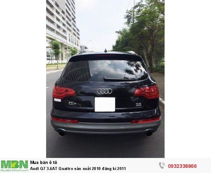 Audi Q7 3.6AT Quattro sản xuất 2010 đăng kí 2011