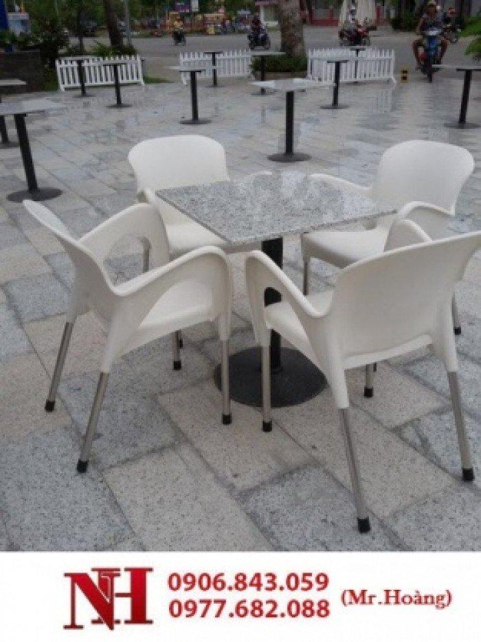 Trọn bộ bàn ghế cà phê nữ hoàng, nhựa nguyên chất0