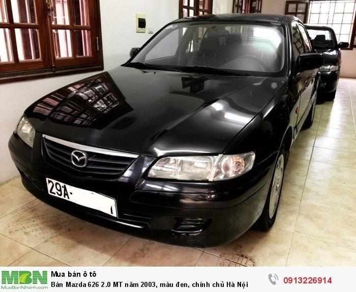 Mazda 626 sản xuất năm 2003 Số tay (số sàn) Động cơ Xăng