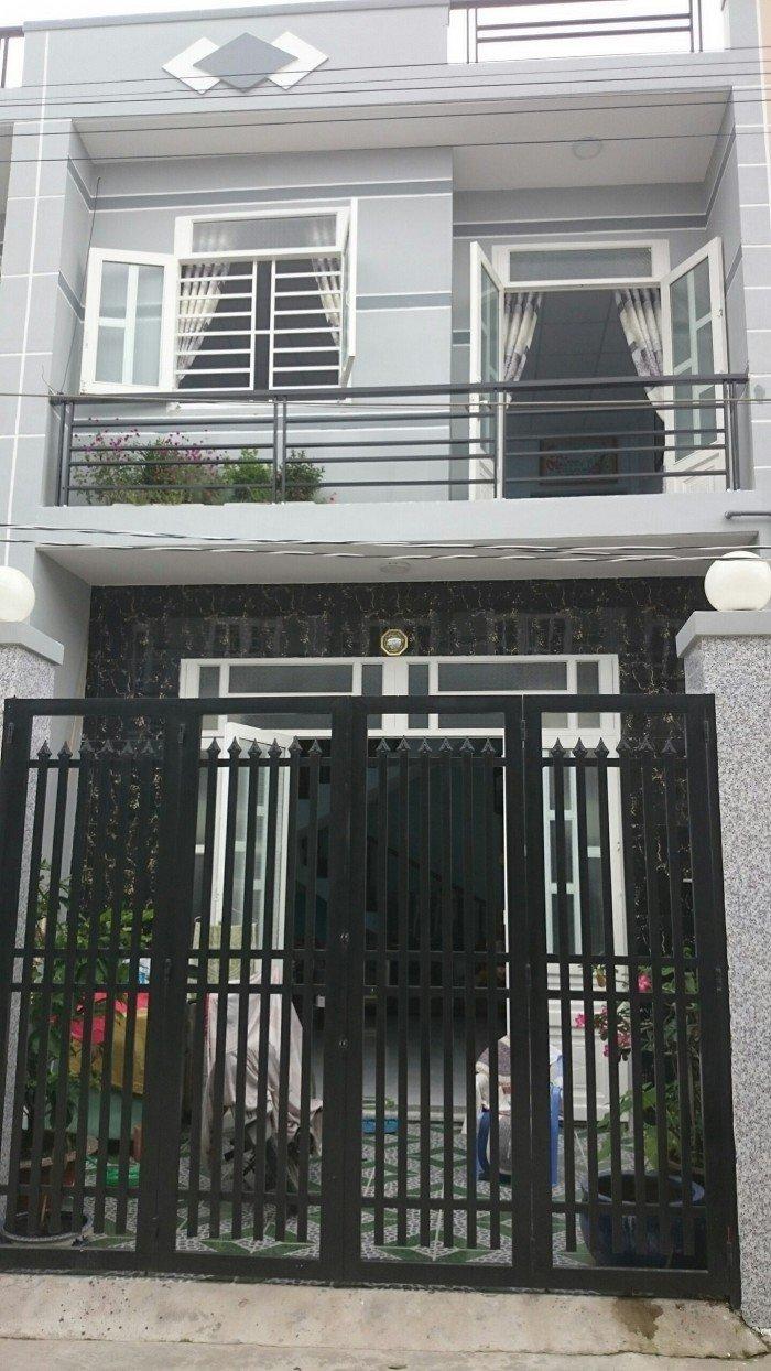 Nhà 1 trệt 1 lầu 3PN, DT 4x25m SHR, Bình Chánh