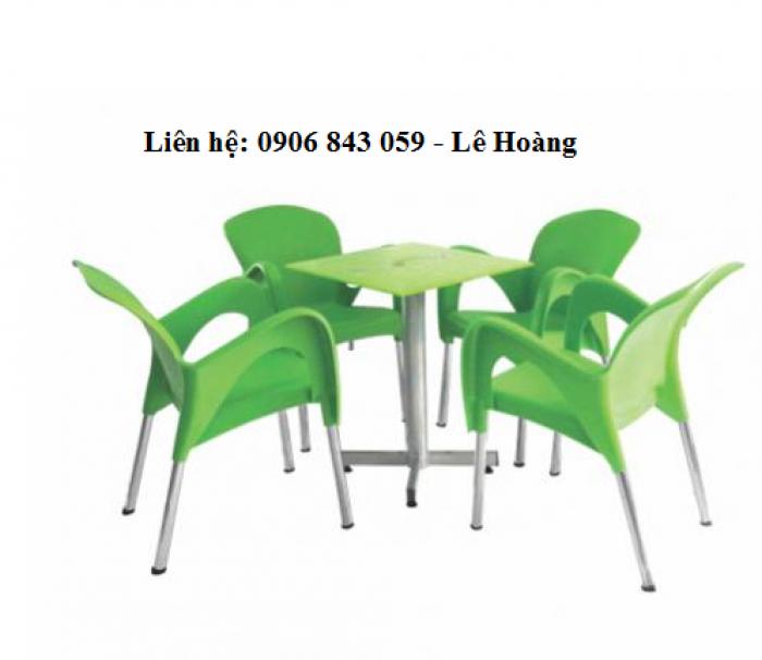 Bộ bàn ghế nữ hàng cho kinh doanh cà phê1