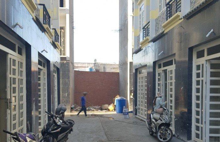 Bán nhà mặt phố hẻm 65 đường số 1,Tỉnh Lộ 10,Tân Tạo A,Bình Tân.đúc kiên cố 4 tấm.