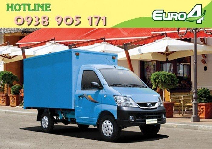 Xe tải Thaco TOWNER 990 xe đời 2017, chuẩn EURO 4. Trả góp lãi thấp, ra số giao xe toàn quốc 7