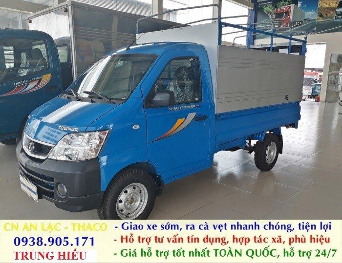 Xe tải Thaco TOWNER 990 xe đời 2017, chuẩn EURO 4. Trả góp lãi thấp, ra số giao xe toàn quốc 8