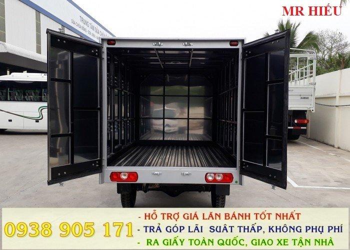 Xe tải Thaco TOWNER 990 xe đời 2017, chuẩn EURO 4. Trả góp lãi thấp, ra số giao xe toàn quốc 9