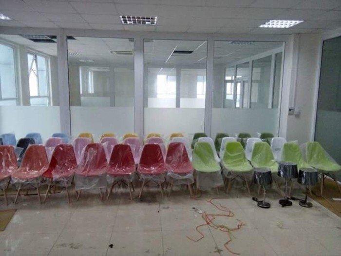 Ghế nhựa giá rẻ, nhiều màu cho kinh doanh quán ăn, quán cafe giá rẻ2