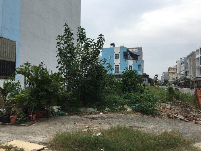 Gán nợ bán gấp bán đất MT đường N6 Nam Sài Gòn 156m2 vuông vức