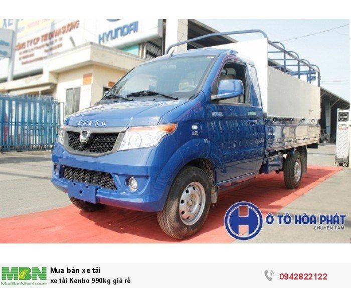 Xe tải Kenbo 990kg giá rẻ