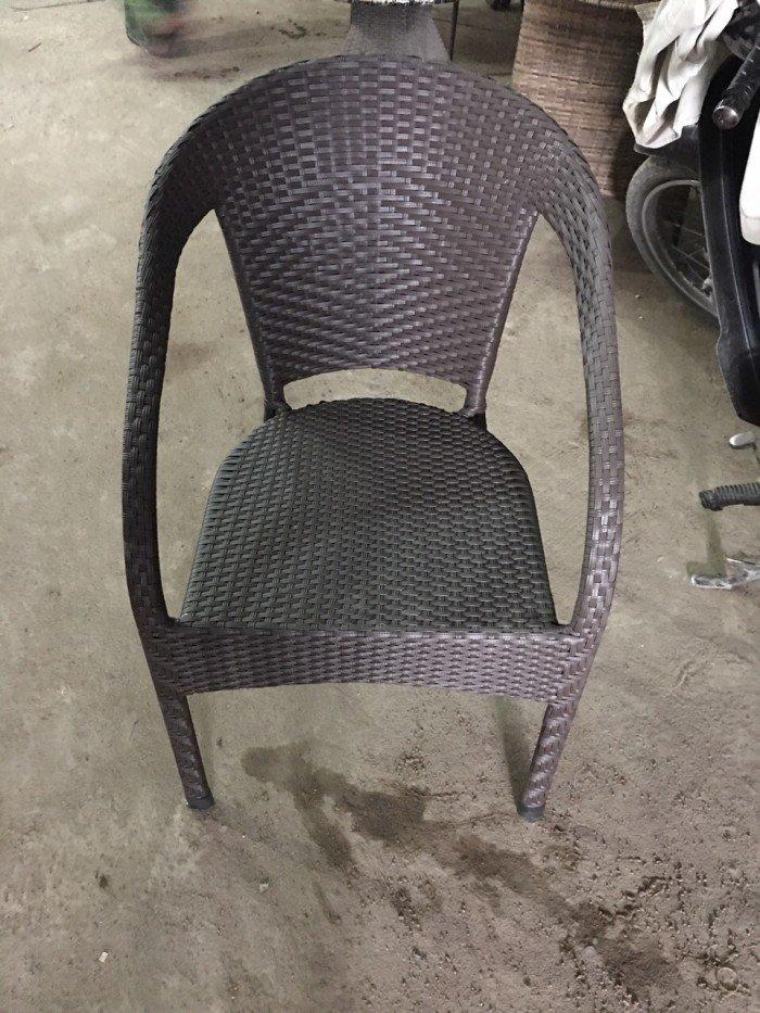 Thanh lý lô ghế nhựa mây bông vân giá rẻ. Miễn phí vận chuyển1