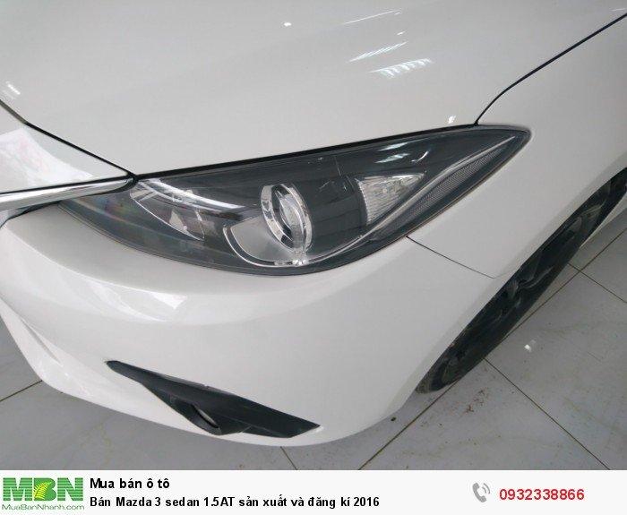 Bán Mazda 3 sedan 1.5AT sản xuất và đăng kí 2016 1