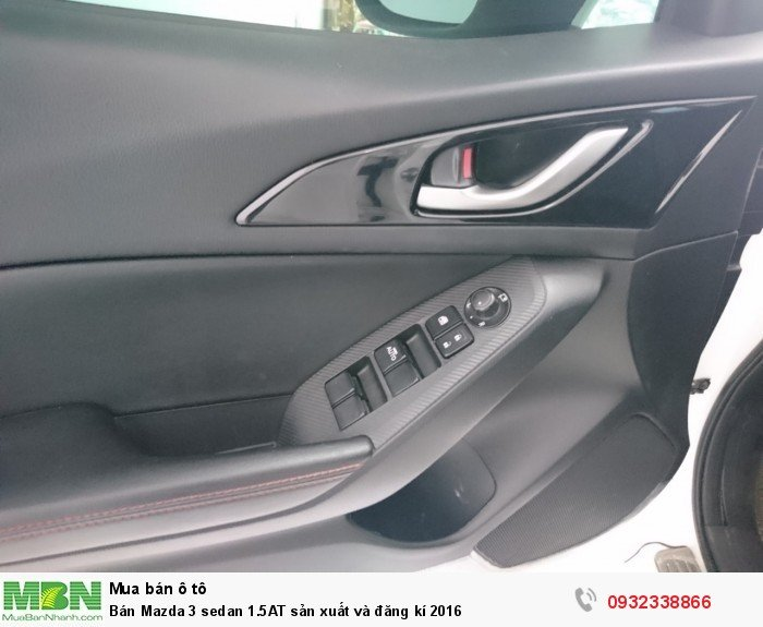 Bán Mazda 3 sedan 1.5AT sản xuất và đăng kí 2016 3