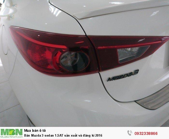 Bán Mazda 3 sedan 1.5AT sản xuất và đăng kí 2016 7