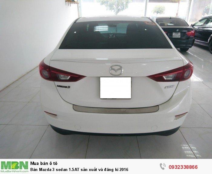 Bán Mazda 3 sedan 1.5AT sản xuất và đăng kí 2016 8