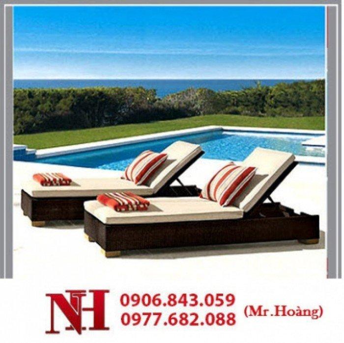 Ghế Sun Lounger, ghế tắm nắng. Liên hệ: 0906843059 Lê Hoàng0